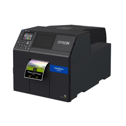 Epson ColorWorks C6050A Colour Label Printer with Auto-Cutter